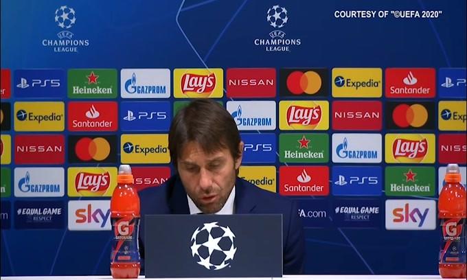 """Conte ammette: """"Abbiamo sentito troppo la gara"""""""
