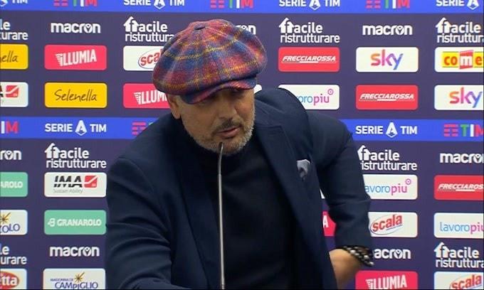 "Mihajlovic: ""Ad ogni tiro prendiamo gol"""
