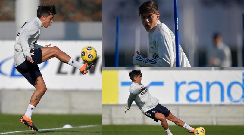 Super Dybala in allenamento: vuole riprendersi la Juve