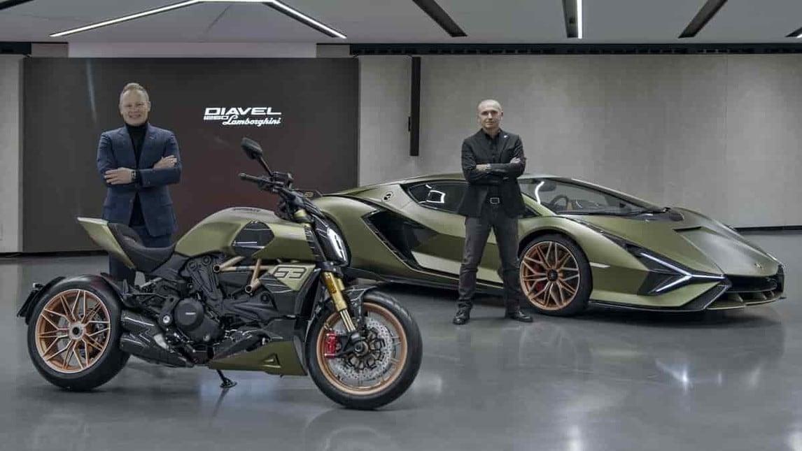 Ducati Diavel 1260 Lamborghini: gli scatti