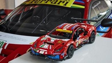LEGO Technic Ferrari 488 GTE, 1677 mattoncini rampanti