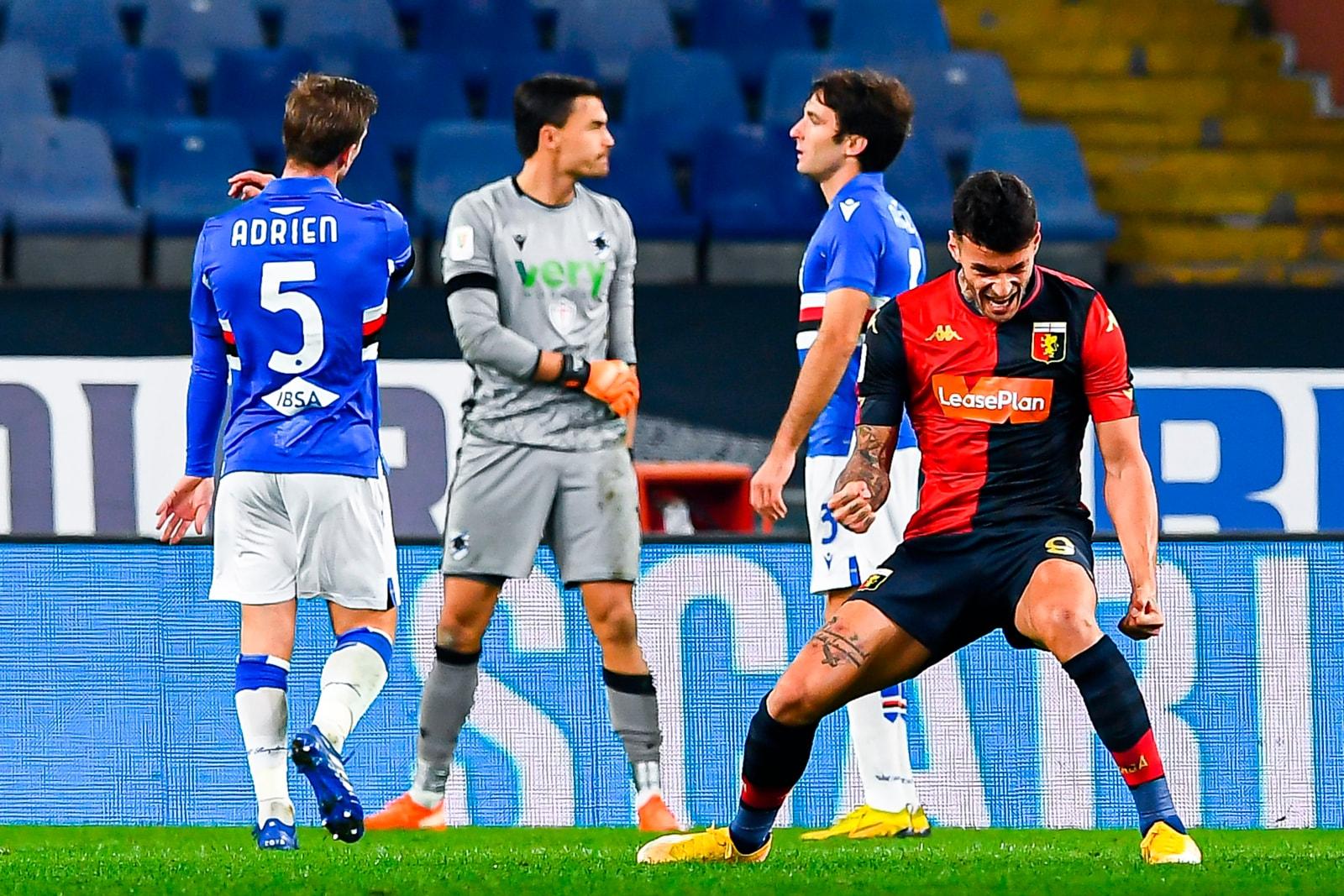Scamacca show, il Genoa si prende il derby e si regala la Juve in Coppa Italia