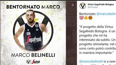 La Virtus Bologna piazza il colpo: ecco Marco Belinelli