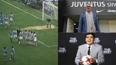 Maradona, Tacconi ricorda la punizione show: