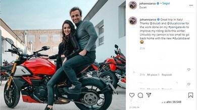 MotoGp, Zarco si prepara per il 2021: a Borgo Panigale c'è anche la fidanzata