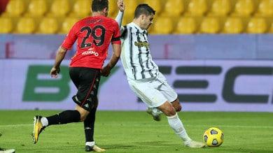 Benevento-Juve 1-1: primo tempo in mano alla squadra di Pirlo, distratta nel finale