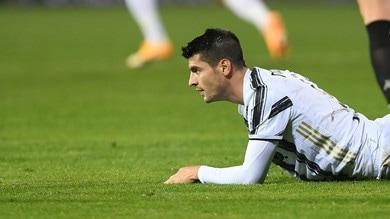 Juve, Morata espulso contro il Benevento: salterà il derby con il Torino