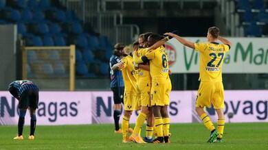 Atalanta-Verona 0-2, l'allievo Juric batte il maestro Gasperini