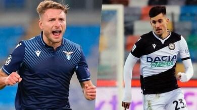 Diretta Lazio-Udinese ore 12.30: come vederla in tv e probabili formazioni