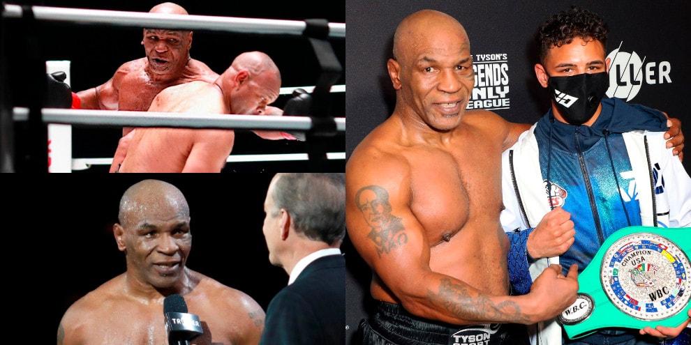 Tyson è ancora Iron Mike! Pari al rientro contro Jones Jr.