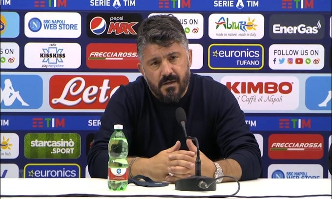 """Gattuso e le manifestazioni per Maradona: """"Bisogna usare buon senso"""""""