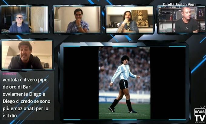 L'emozione di Ferrara parlando di Maradona