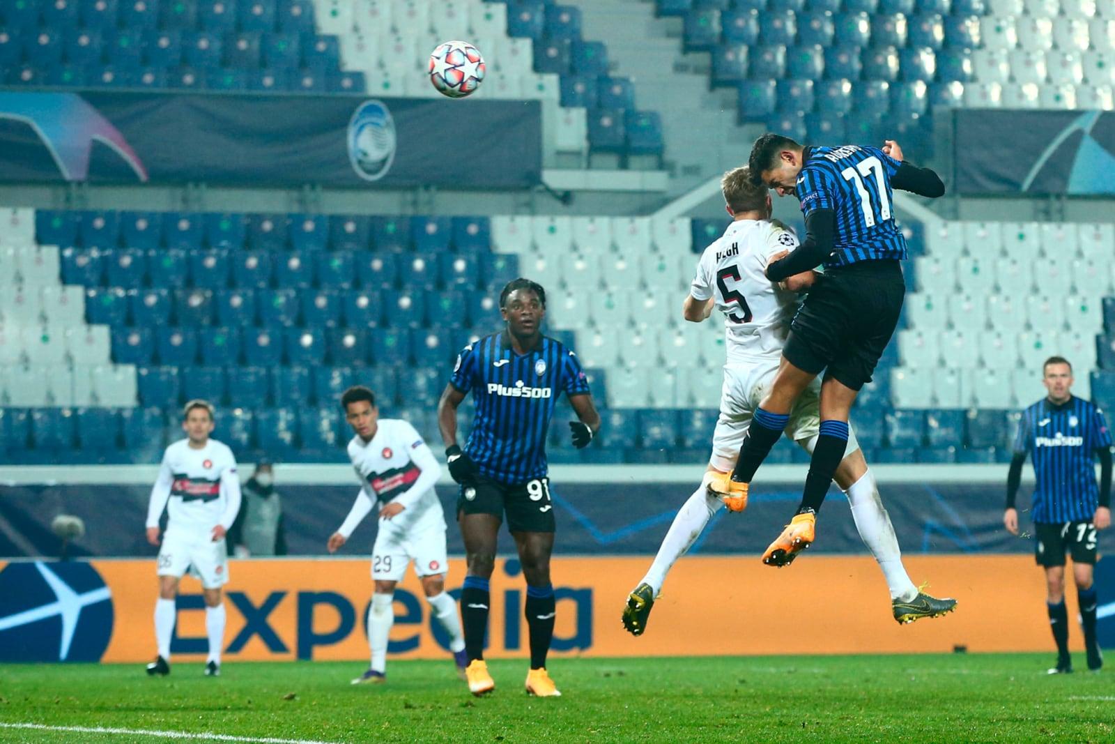 Atalanta, Romero decisivo in Champions: 1-1 con il Midtjylland