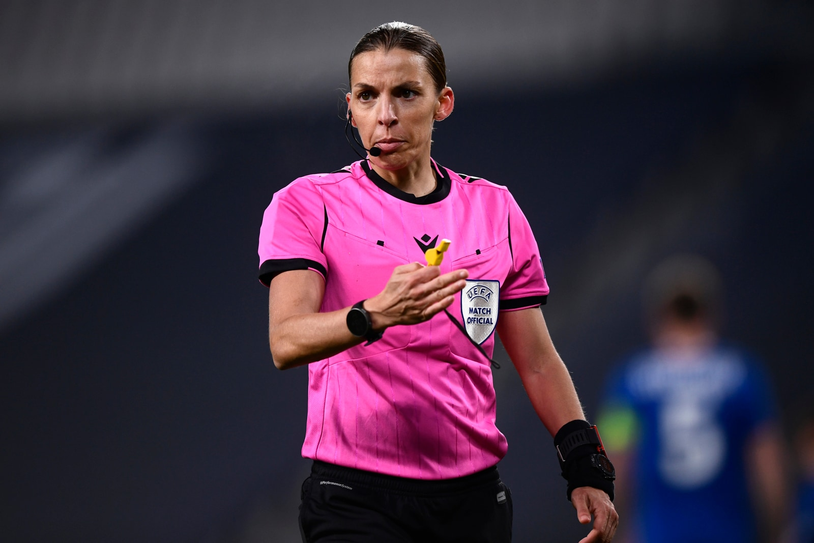 Juve-Dynamo Kiev, Stephanie Frappart fa la storia