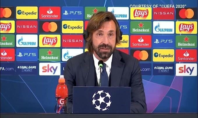 """Pirlo: """"Juve diversa tra Coppa e campionato? É strano"""""""