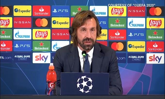 """Pirlo: """"Dybala in panchina per giocare il derby"""""""