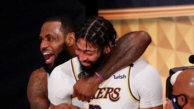 Lakers, tocca ad Anthony Davis: 190 milioni per i prossimi cinque anni