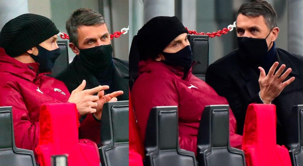 Milan, Maldini parla in tv del contratto di Ibra e lo svedese si confronta