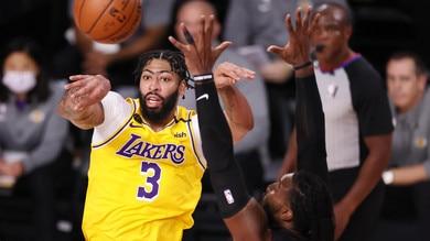 NBA, Lakers: Davis rinnova per 5 anni a un totale di 190 milioni di dollari