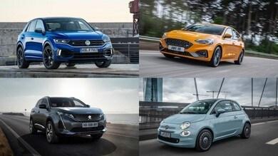 Top 10 vendite, ecco le auto più immatricolate a novembre 2020