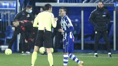 Liga, frena la Real Sociedad: 0-0 con l'Alavés. Infortunio per David Silva