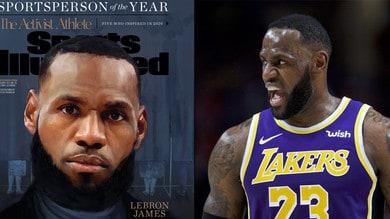 Nba, LeBron James per la terza volta è lo sportivo dell'anno