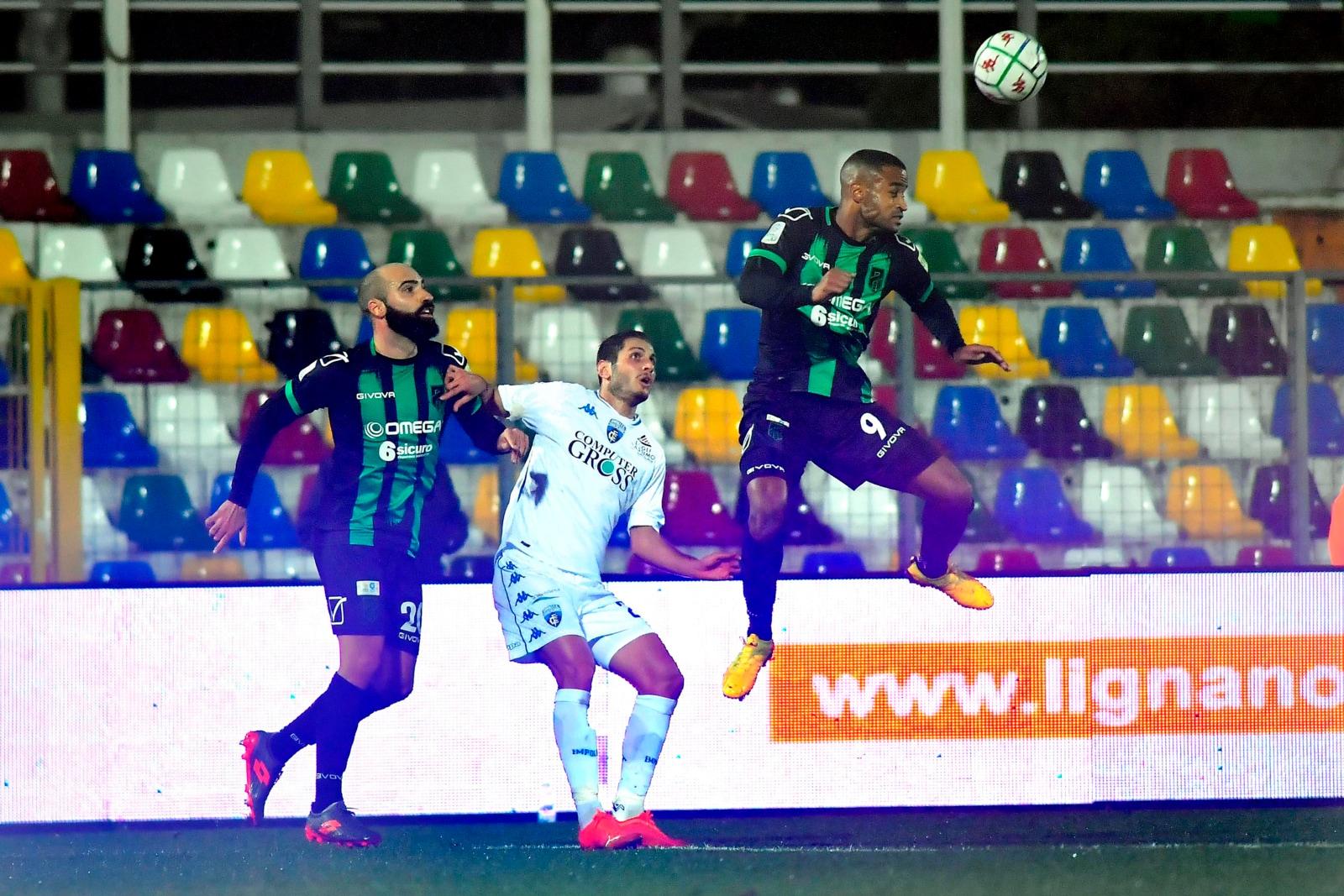 """Il Pordenone stoppa l'Empoli: al """"Teghil"""" è 0-0"""