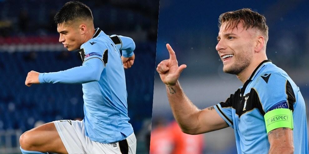 Lazio, acciuffati gli ottavi con Correa-Immobile: è 2-2 con il Bruges