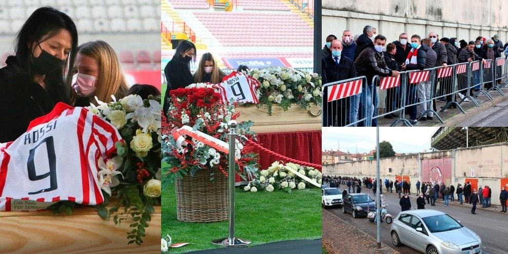 Paolo Rossi, commozione e amore per l'ultimo saluto