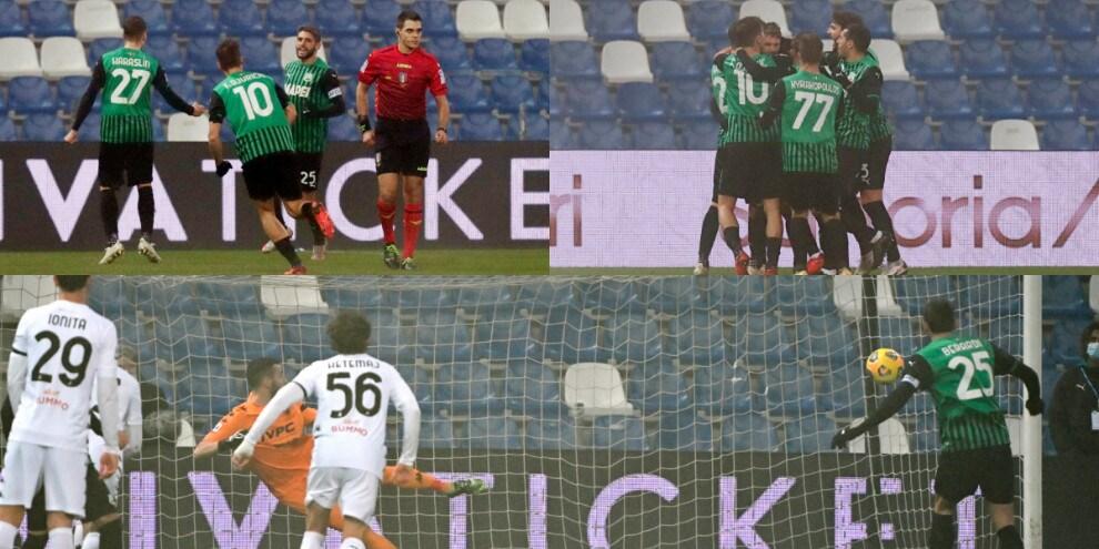 Al Sassuolo basta Berardi! Benevento ko contro De Zerbi
