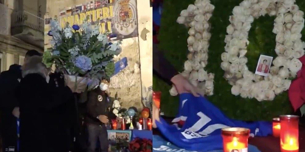 Maradona, ecco l'omaggio della Sampdoria