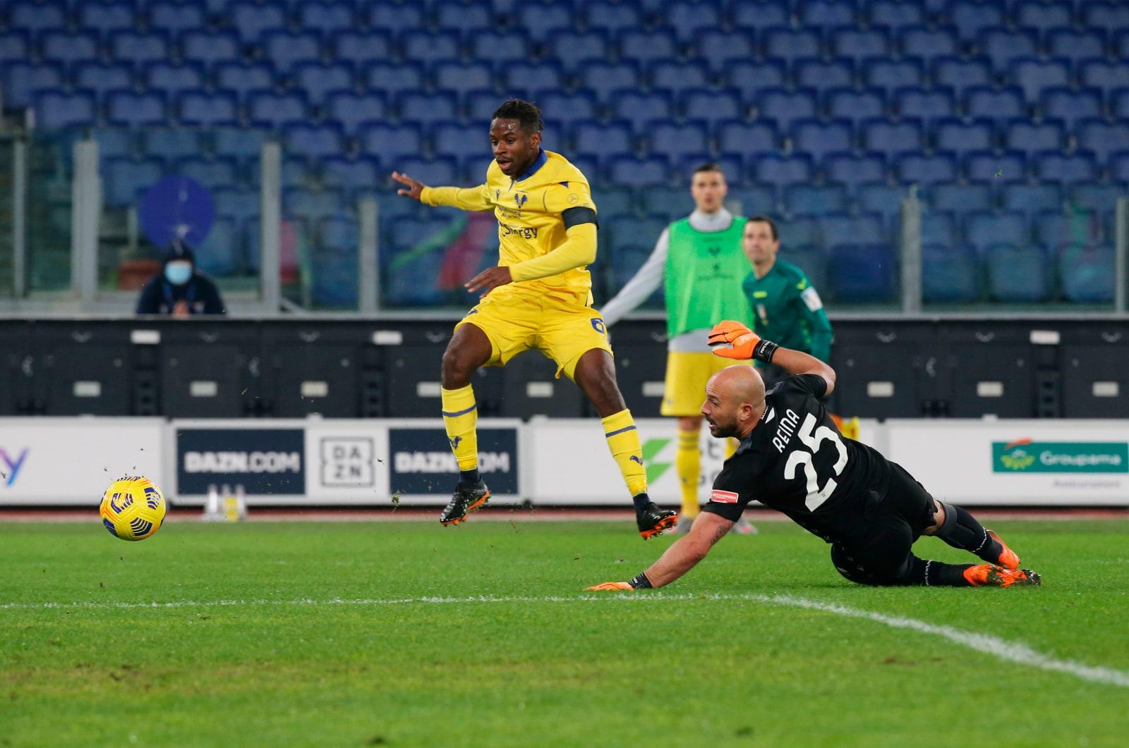 Lazio-Verona 1-2, il tabellino