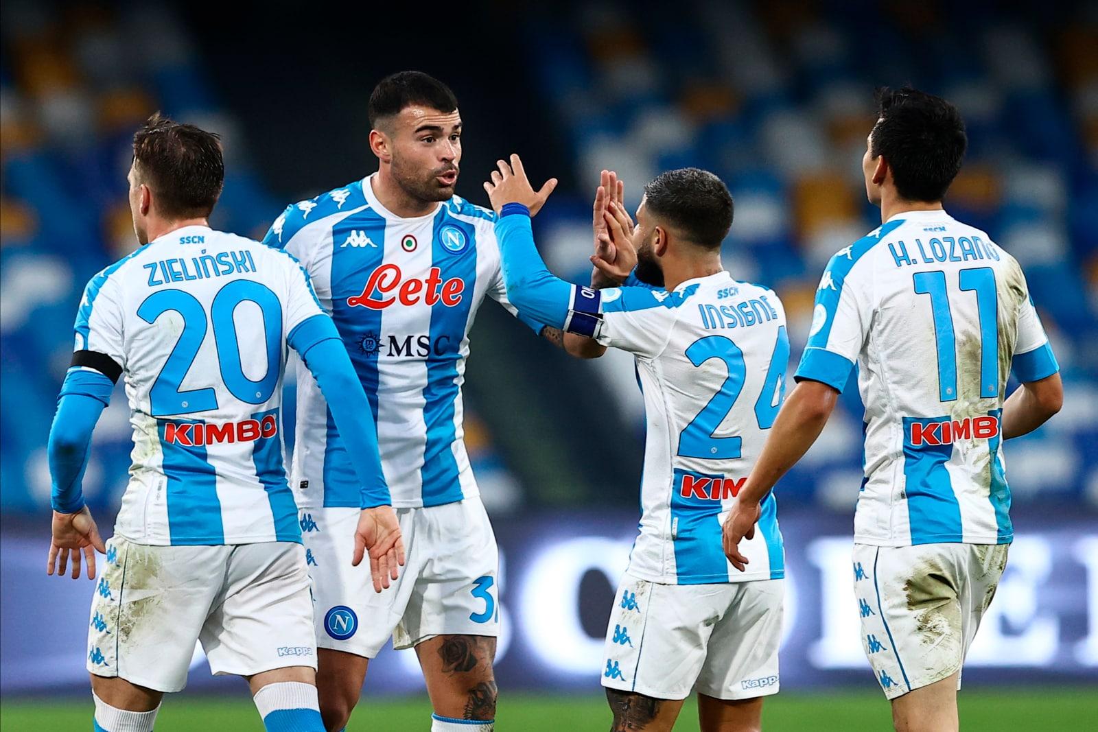 Lozano e Petagna ribaltano la Sampdoria: festa Napoli al Maradona