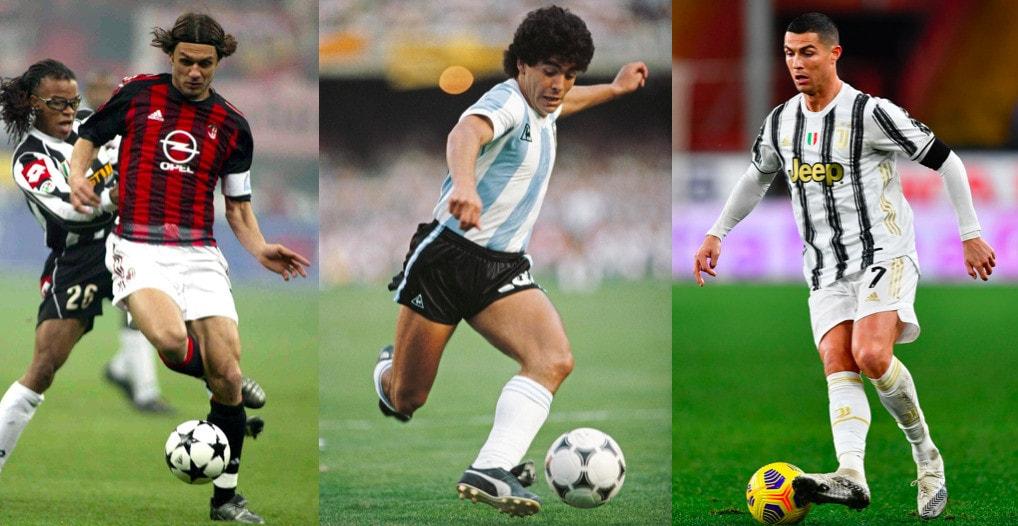 Cristiano Ronaldo nel dream team di sempre: ci sono anche Maldini e Maradona