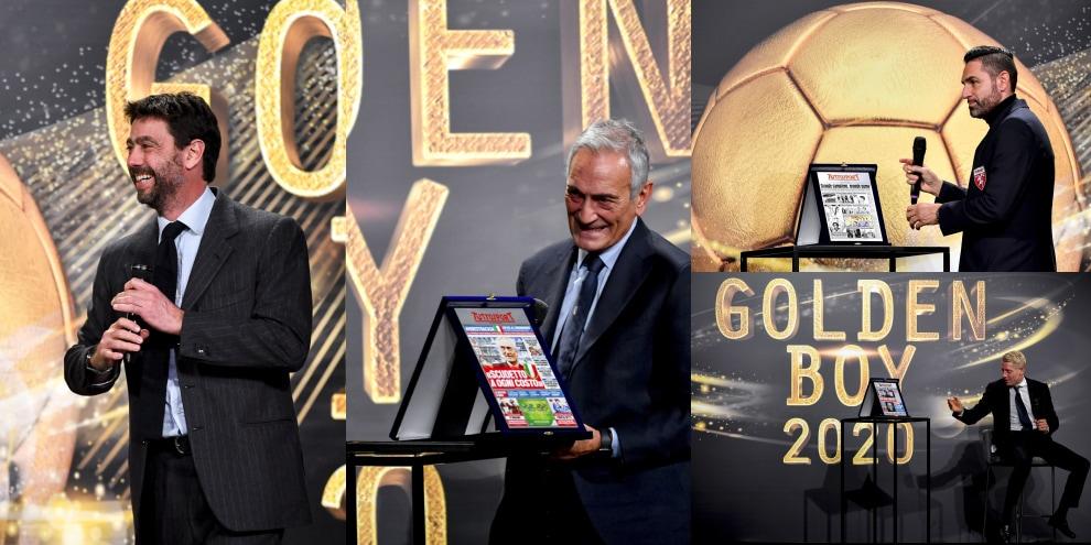 Golden Boy 2020, le foto più belle dell'evento