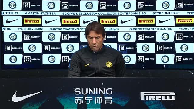 """Inter, Conte: """"Sanchez out e non rischio Vidal"""""""