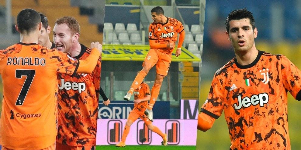 Super Juve: Kulusevski da ex, Ronaldo va in cielo e Morata-gol