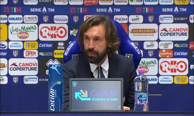 """Pirlo: """"Dybala? Nelle squadre forti i campioni ci stanno sempre"""""""