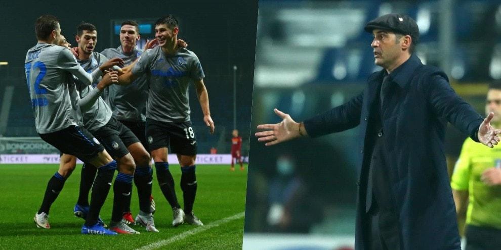 L'Atalanta in rimonta ne fa 4 a Fonseca: goleada dopo il gol di Dzeko