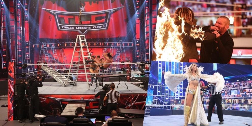 """TLC, il finale è """"infuocato"""": Randy Orton dà alle fiamme The Fiend"""