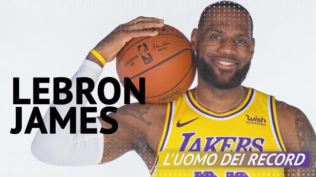 LeBron James, l'uomo dei record