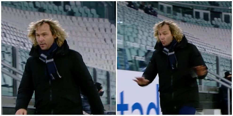 Nedved furioso con l'arbitro: lascia lo stadio durante Juve-Fiorentina