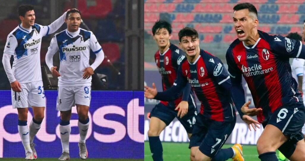 Atalanta, Muriel fa doppietta ma il Bologna rimonta e fa 2-2