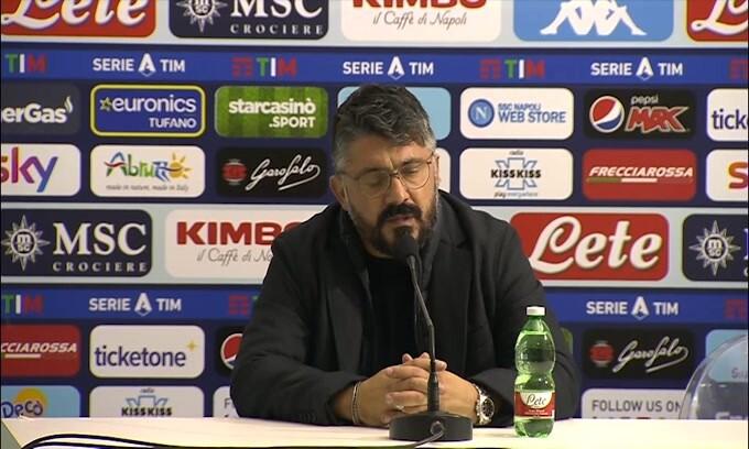 "Gattuso: ""Juve-Napoli? Noi in buona fede"""