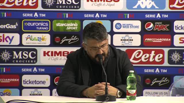 """Gattuso e la gara con la Juve: """"Eravamo in buona fede"""""""