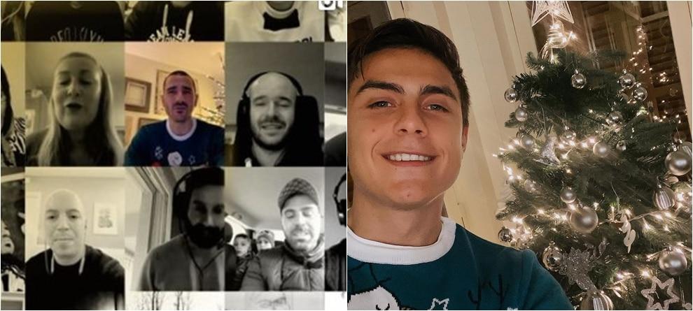 Il Natale dei giocatori della Juve