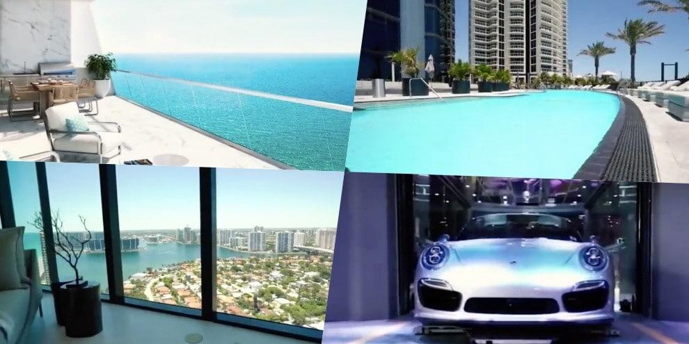 Messi, la casa di Miami nel condominio Porsche Design
