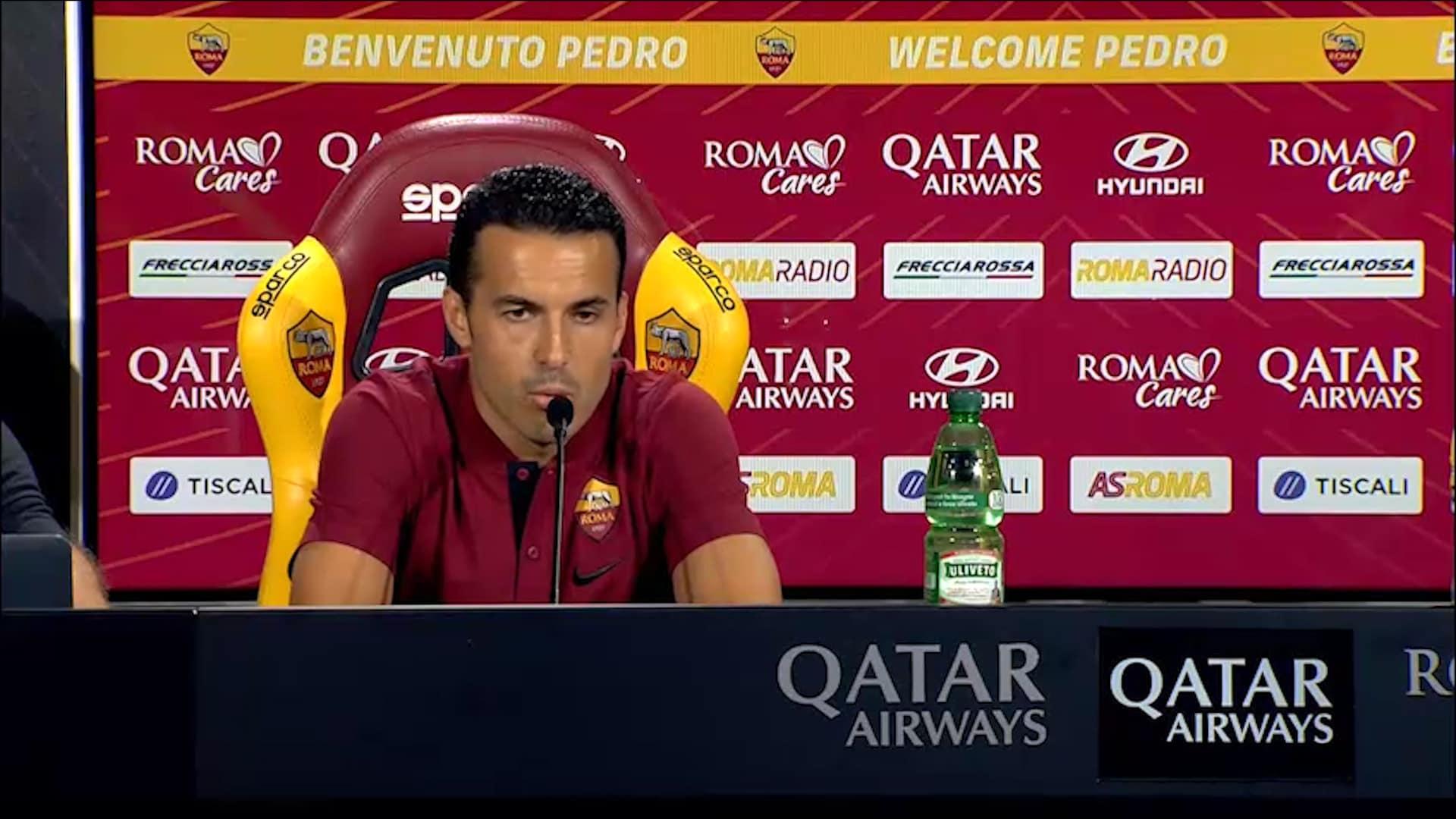 Roma, stop Pedro: salta la Samp?
