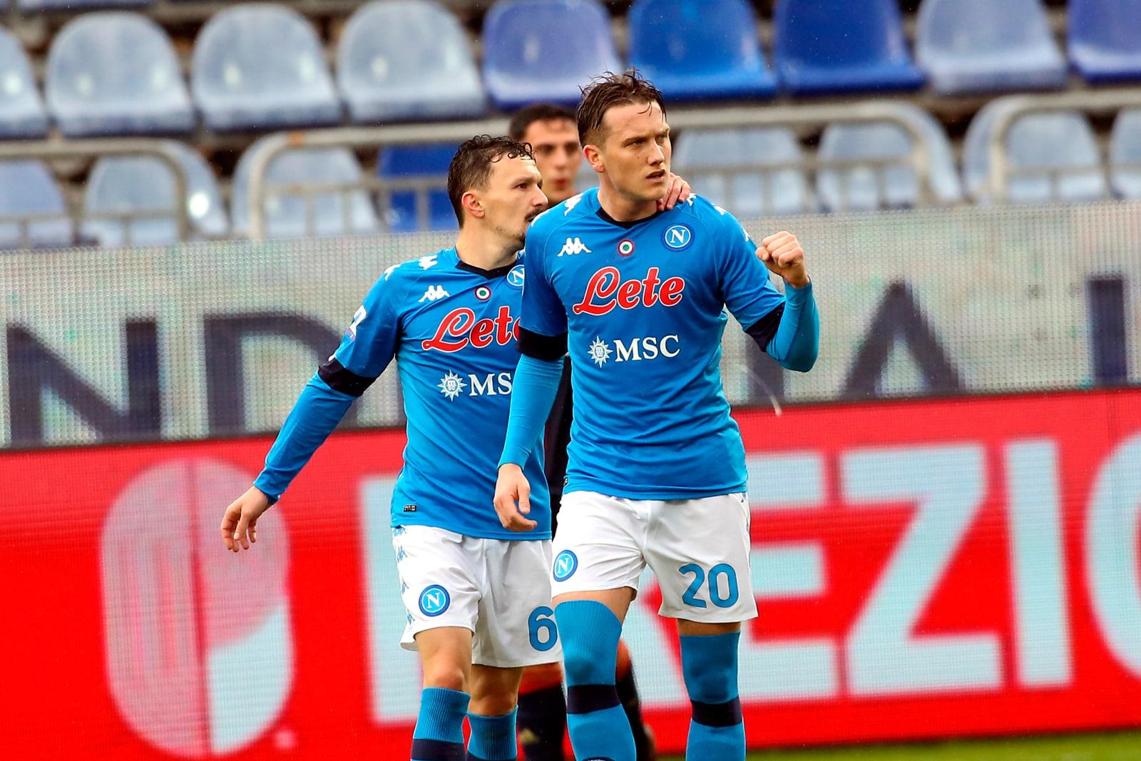 Il Napoli torna alla vittoria: Zielinski show nel 4-1 al Cagliari