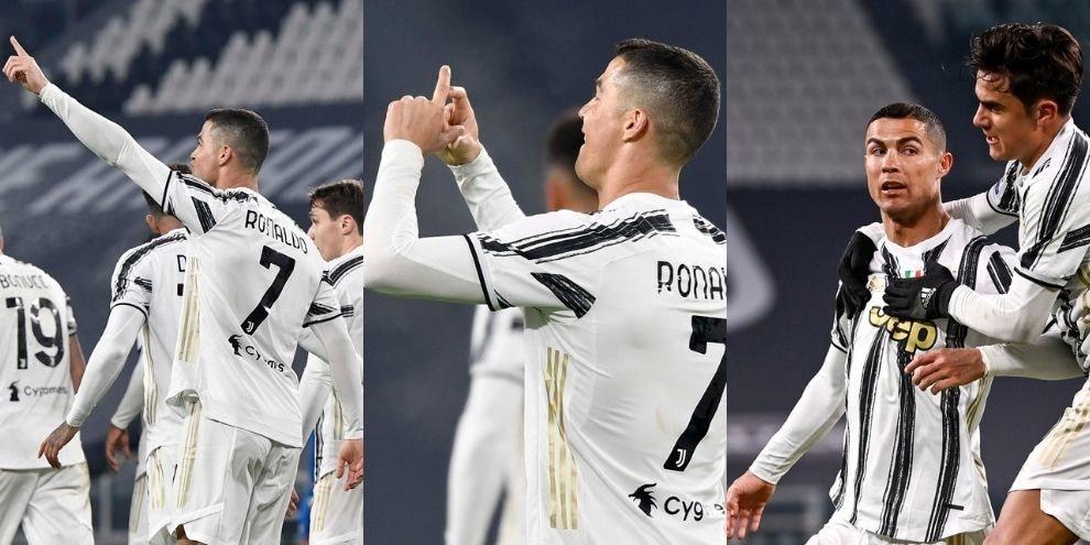 Juve, Ronaldo c'è sempre! Gol all'Udinese con esultanza speciale